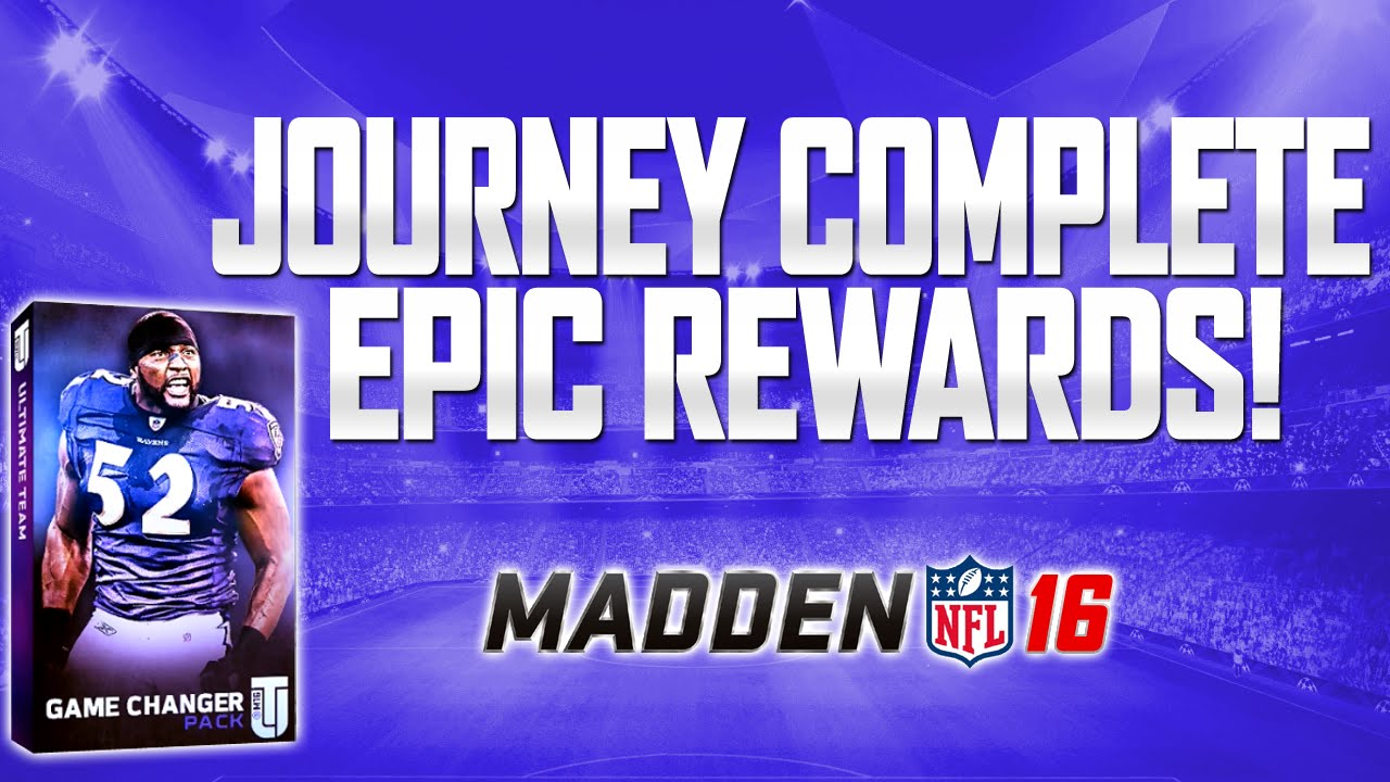 Madden 16 Ultimate Team Journey Solos Completed BEST