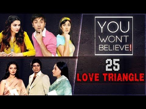 Ranbir-Katrina-Deepika, Amitabh-Rekha Bollywood Most Controversial Love Triangle YOU WON'T BELIEVE