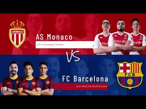 AS Monaco vs. FC Barcelona | Highlights Matchday 3 eFootball.Pro IQONIQ 2020-2021