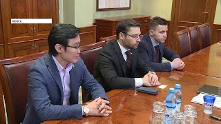 Владимир Солодов и Александр Якубовский обсудили проблемы участников долевого строительства