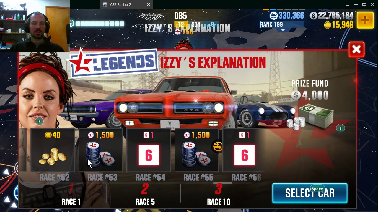 Legends guide and why i dont like it CSR2