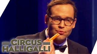 Würstchen essen | Duell um die Geld | Circus Halligalli