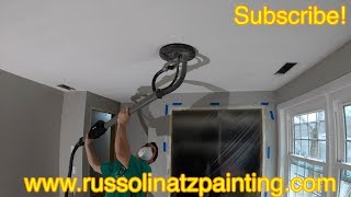 Popcorn Ceiling Removal & Skim Coating (Part 1)
