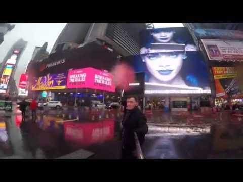 NYC (Time Square & Madison Square Garden) GOPRO HERO 4