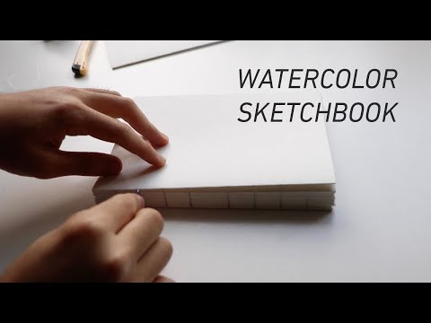 Making a Watercolor Sketchbook