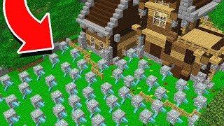 1,000 DIAMOND ORES VS. SAFEST MINECRAFT HOUSE!