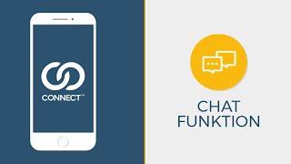 Chat Funktion der Qnnect-App