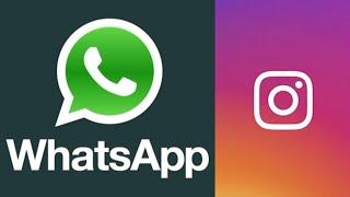 WhatsApp e Instagram registran problemas de conexión