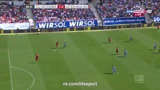 Cамый быстрый гол Хоффенхайм 1 0 Бавария   Гол Фолланда на 9 секунде