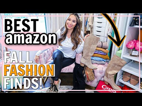 BEST AMAZON FALL CLOTHES! AMAZON FALL 2019 OUTFIT IDEAS! | Alexandra Beuter