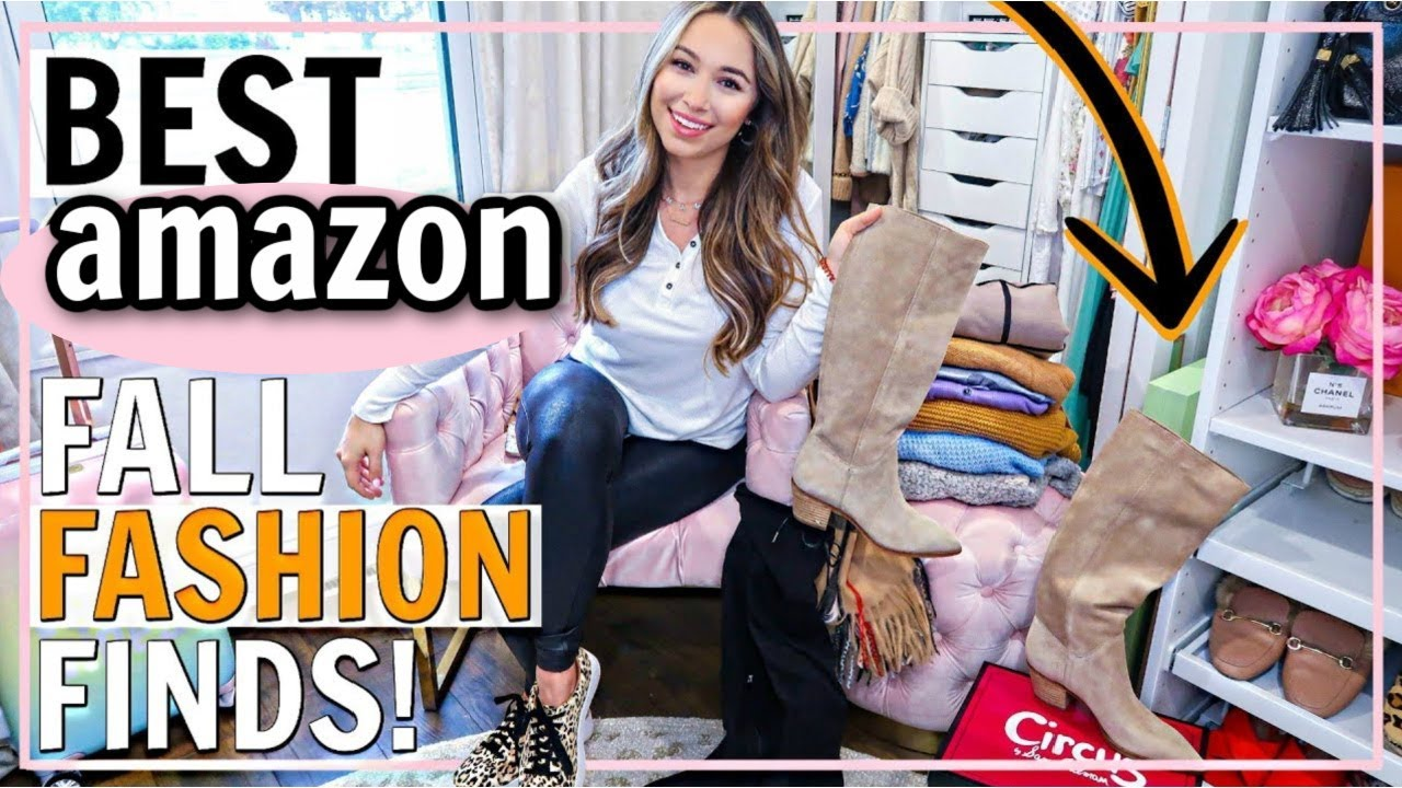 [VIDEO] - BEST AMAZON FALL CLOTHES! AMAZON FALL 2019 OUTFIT IDEAS! | Alexandra Beuter 7