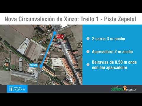 Video explicativo das diferentes actuacións en Xinzo da Xunta de Galicia