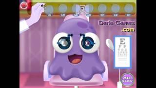 NEW мультик онлайн для девочек—Проверяем глазки—Игры для детей