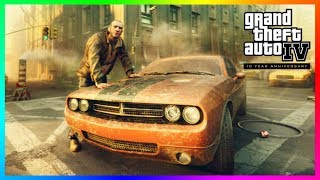 Grand Theft Auto IV Gets An Update 10 Years Later - NEW Content Added, Things Removed & MORE (GTA 4)
