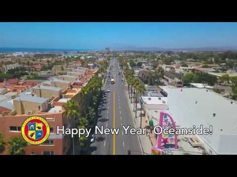 Happy New Year from everyone at the City of Oceanside and KOCT!
