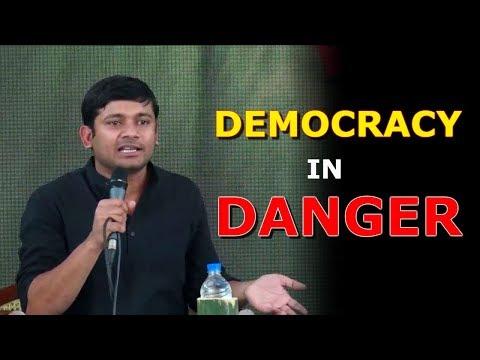 Democracy in Danger    Kanhaiya Kumar in Kerela Literature Festival + Q/A Session - Feb 2018