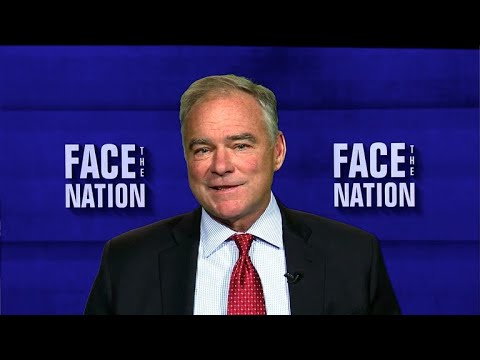 """Extended interview: Sen. Tim Kaine on """"Face the Nation"""""""