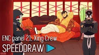 E.N.C ARTVID - Panel 21: Xing Crew +SpeedDraw+