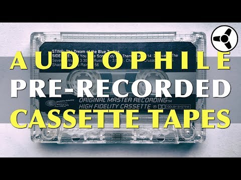 Audiophile Pre-recorded Cassette Tapes Mp3