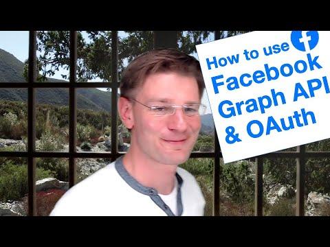 Facebook API - How To Call The Facebook API And Get An OAuth Access Token