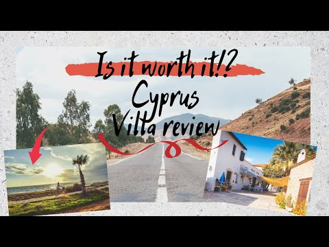 CYPRUS | PAPHOS | REVIEW | ST. GEORGE | VILLA 3 BEDROOMS | FAMILY VACAY |