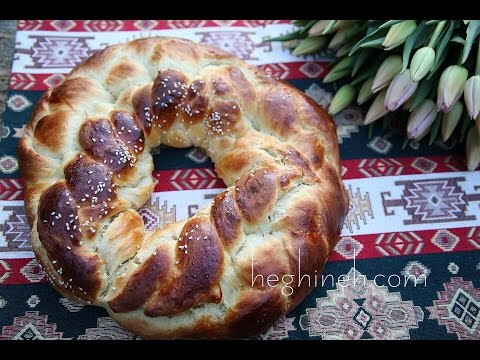Կաթնահունց - Armenian Easter Bread Recipe - Heghineh Cooking Show In Armenian