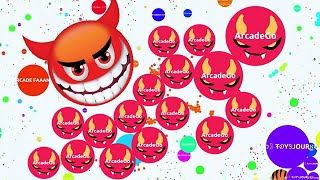 Agario Mobile Solo And EPIC TEAM HIGH SCORE 70K In Party Mode (Agar.io Trolling Funny Moments)