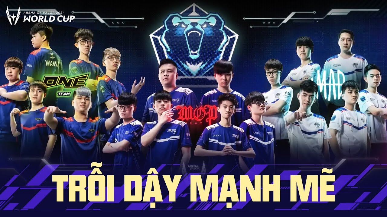 TRỖI DẬY MẠNH MẼ - Most Outstanding Player, ONE Team, MAD Team | GCS PROMOTION | AWC 2021