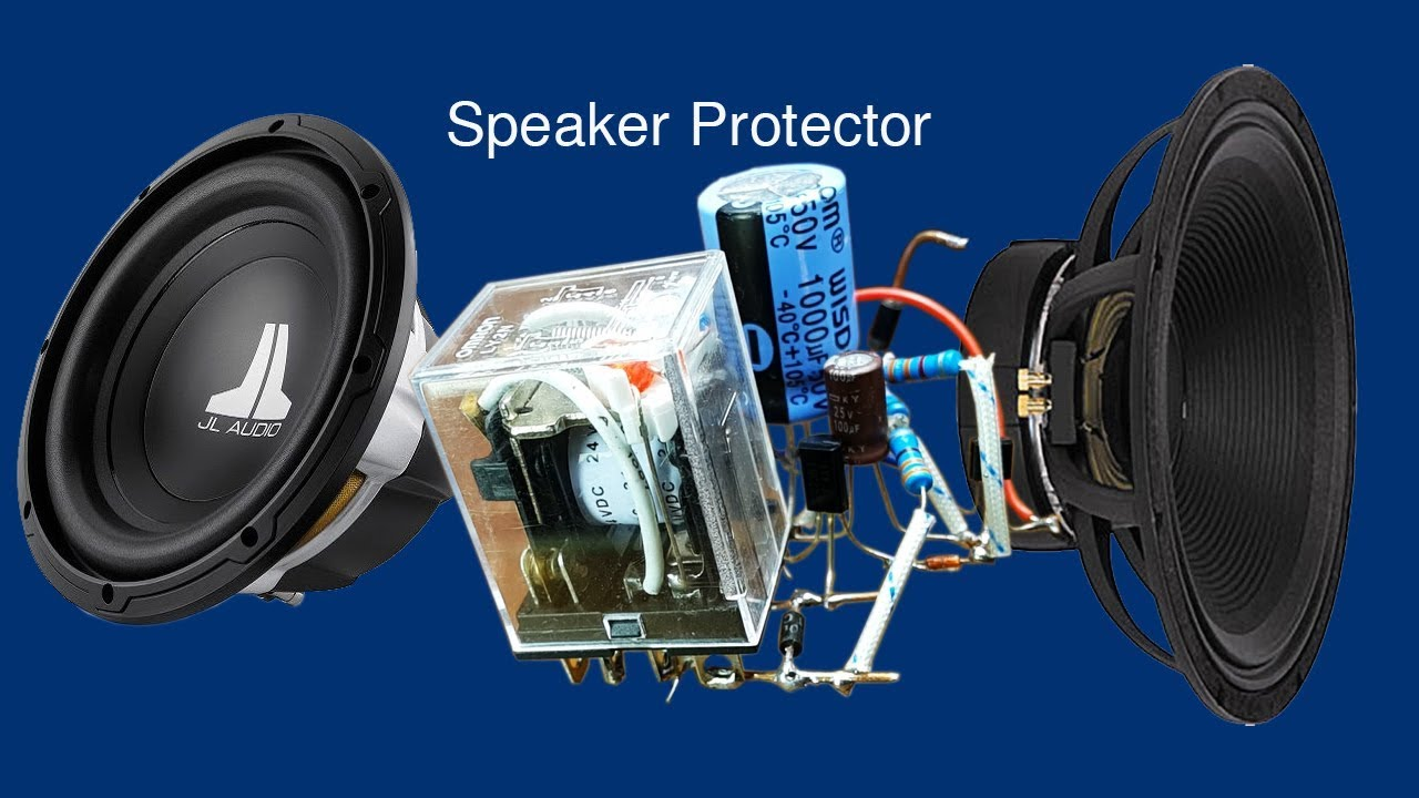 maxresdefault how to make relay 24v speaker protector circuit youtube