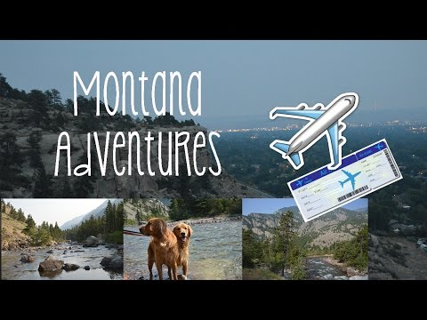 Travel Vlog: Montana Adventures!!