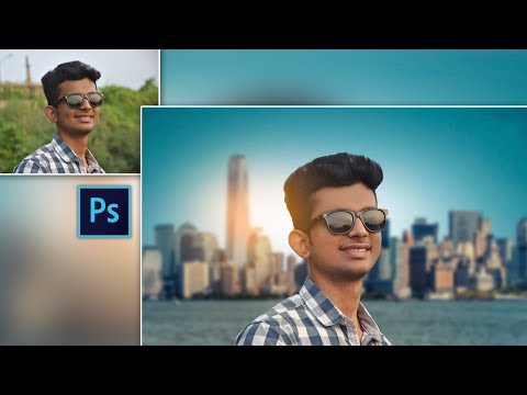 Best Photo Manipulation Ever | Blue Sky | Perfect Photo Editing in Photoshop