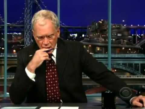 David Letterman Admits to Sexual Affair With Staff