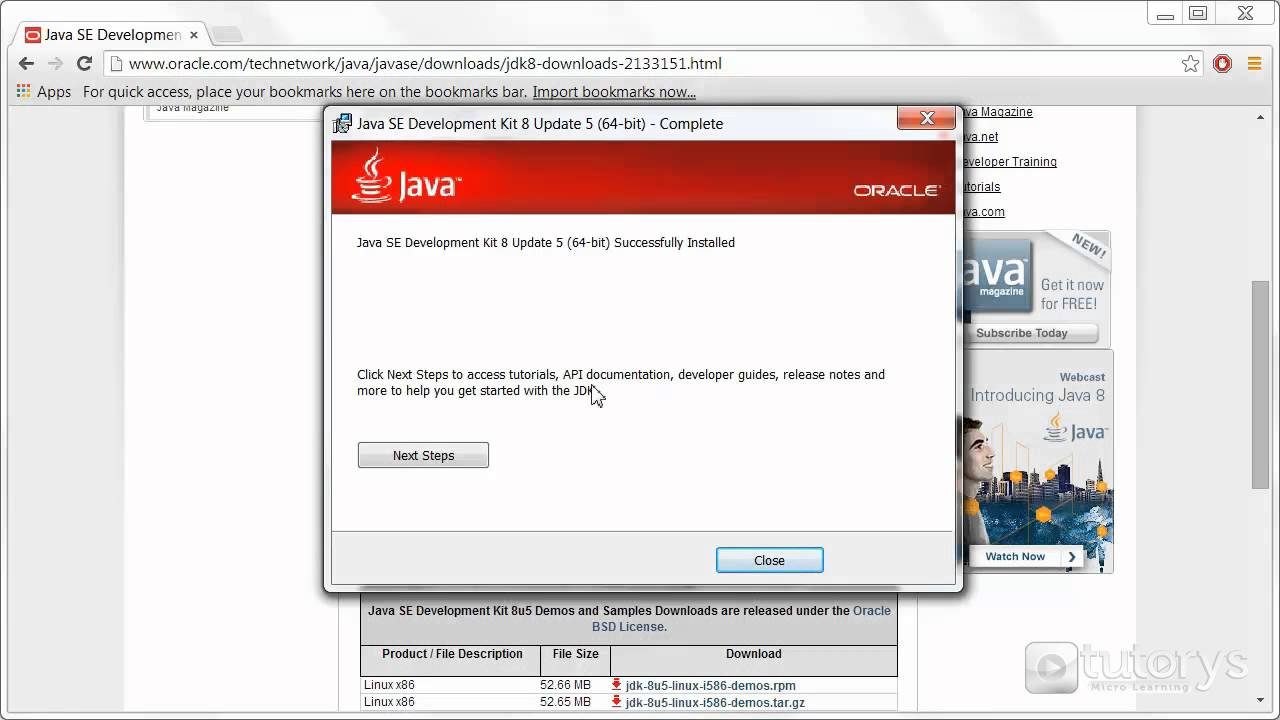 How to install Java on Windows 7?