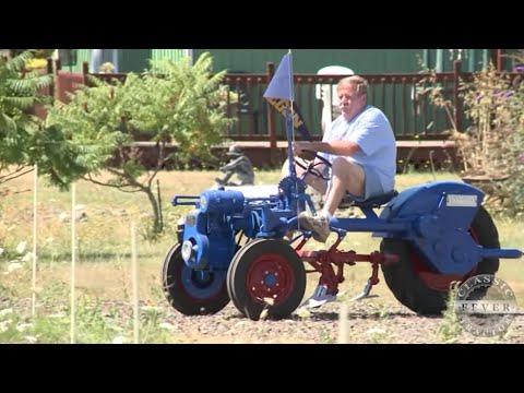 Rare Garden Tractor Resurrected From Blackberry Patch - 1950 Kerrebrock Model N