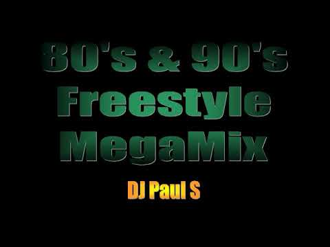 80s & 90s Freestyle MegaMix - (DJ Paul S)