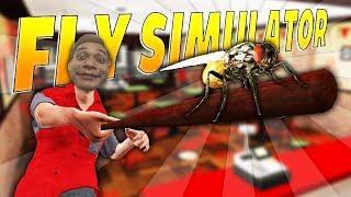 Giả lập Quán Pizza và Bầy ruồi cùng Mixigaming và Xemesis | Fly simulator