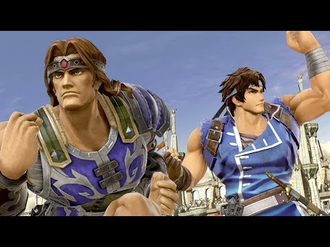 Alpharad reacts to Simon and Richter - SUPER SMASH BROS ULTIMATE