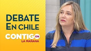 """Diputada UDI: """"A mí nunca me han pedido cambios en la Constitución"""" - Contigo en La Mañana"""