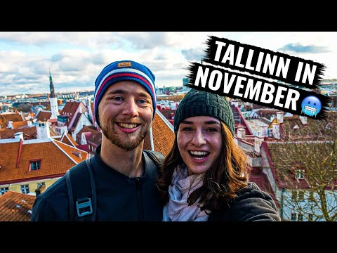 Here's What To Do In TALLINN, ESTONIA 🏰 (our Airbnb has a sauna!)