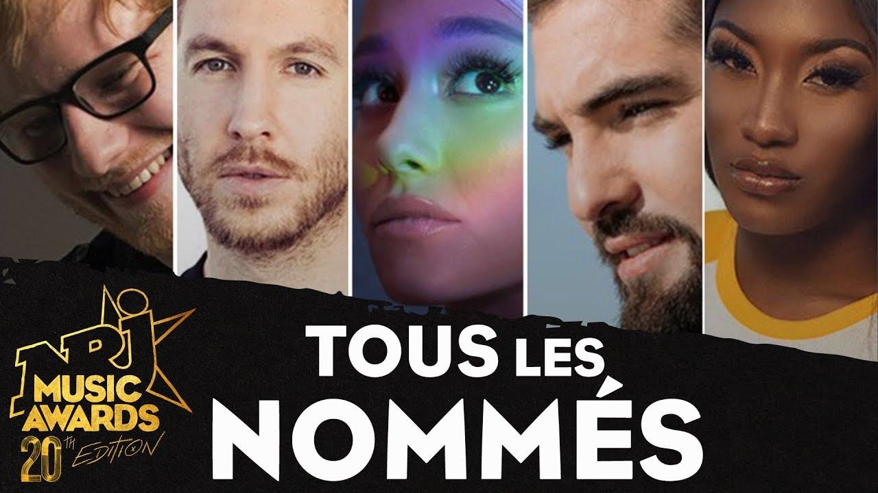 Découvrez tous les nommés 2018 #NRJ Music Awards