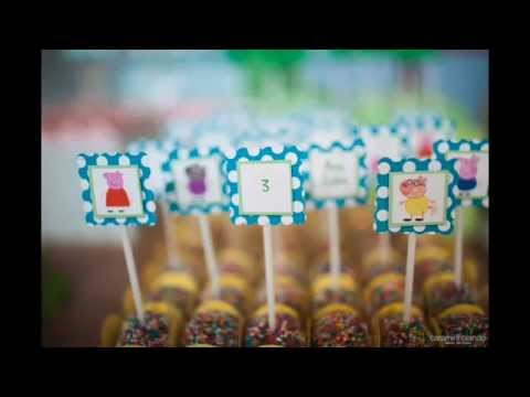 Peppa Pig Birthday Party via Little Wish Parties childrens party blog