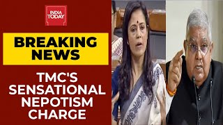 TMC MP Mahua Moitra's Explosive Charge At Bengal Governor Jagdeep Dhankar | Breaking News