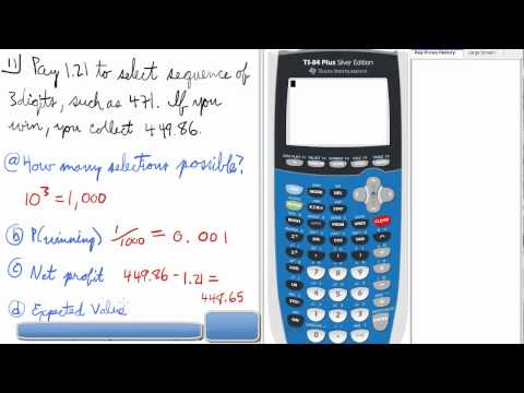statics how to find proability value