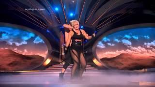 Kasia Skrzynecka jako Pink - Twoja Twarz Brzmi Znajomo