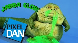 Jabba Glob Star Wars The Phantom Menace Slime Figure Video Review (Retro Toy Rewind)