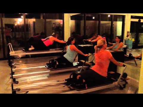 Pilates Group Class Video