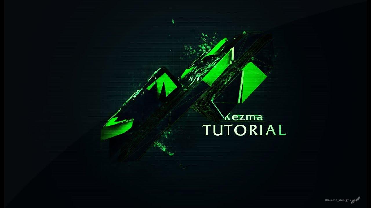 [ Tutorial ] How to make a Custom Shape Logo (Photoshop
