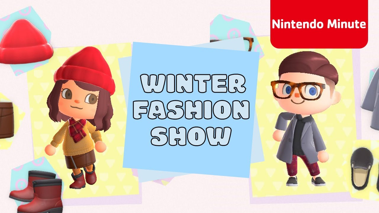 Animal Crossing: New Horizons Winter Fashion Show - Nintendo