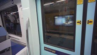 United Arab Emirates, Dubai, metro ride from Al Rigga to Deira City Centre
