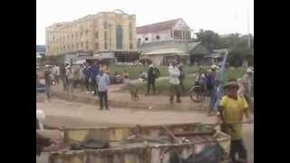 柬埔寨 Poipet 坡碧前往暹粒市途中見聞、閒聊(上)